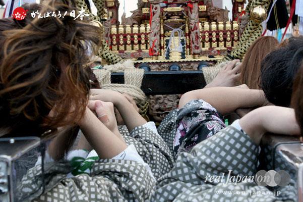 〈八重垣神社祇園祭〉砂原区 @2012.08.04