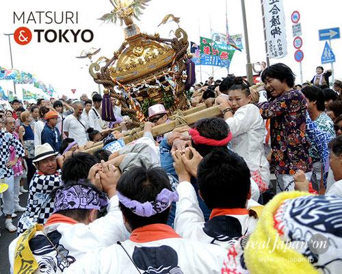 平成29年度「羽田まつり」稲荷前 町会 2017年7月30日 HND17_029