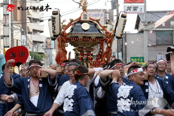 浦安三社祭〈海楽まつり会〉@2012.06.17