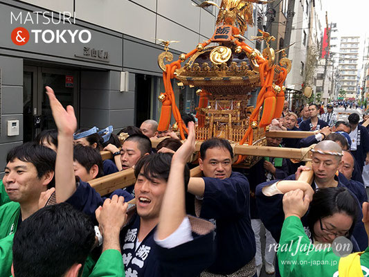 〈神田祭 2017.5.14〉蛎一共和会 ©real Japan'on -knd17-007
