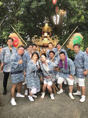 〈GP-18004〉 浦安當穆 坂本真実さん:王子神社例大祭・2018年8月5日