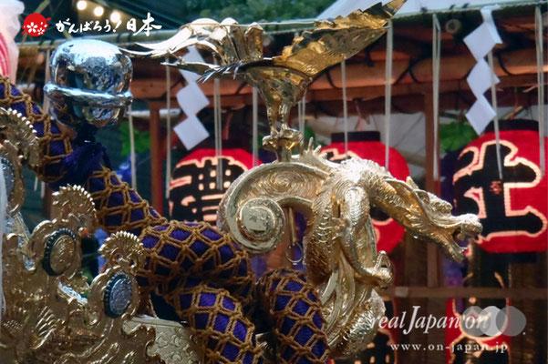〈鉄砲洲祭〉湊三丁目・神酒所前 @2012.05.03