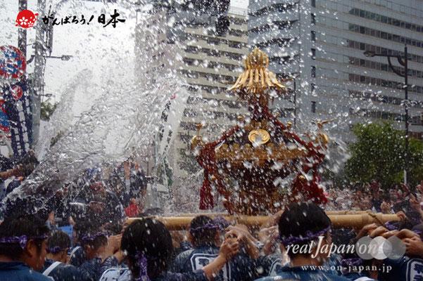 〈富岡八幡宮例大祭〉神輿連合渡御 特別参加: 奥州平泉 @2012.08.12