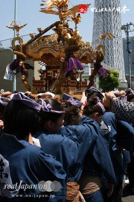 〈すみだ区民祝賀パレード〉十一番. 中央連合渡御