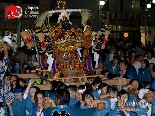 〈八重垣神社祇園祭〉女神輿連合渡御:仲町区 @2018.08.04 YEGK18_005