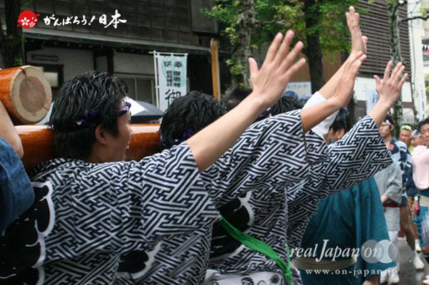 〈鉄砲洲祭〉新富町(神輿台輪寸法: 3尺)@2012.05.04