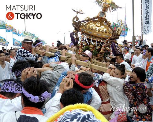 平成29年度「羽田まつり」稲荷前 町会 2017年7月30日 HND17_030