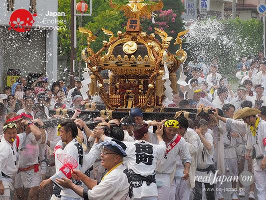 〈八重垣神社祇園祭〉田町区 @2017.08.05 YEGK17_037