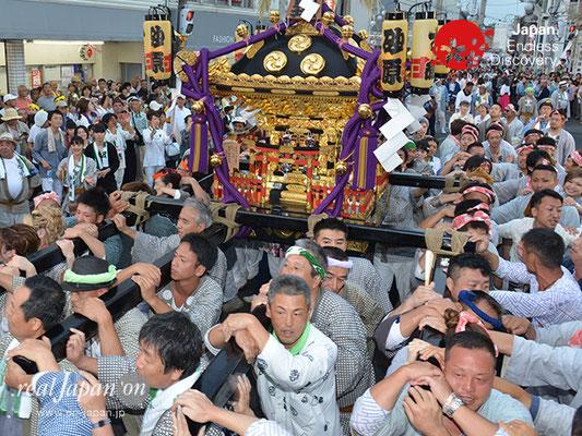 〈八重垣神社祇園祭〉神社神輿・砂原町区 @2017.08.05 YEGK17_049