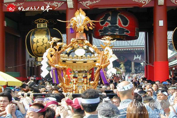 〈三社祭〉各町連合渡御 @2008.05.17