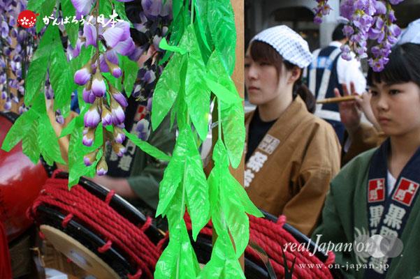 〈下谷祭〉祭囃子(御徒町駅前通り商店街)@2012.05.13