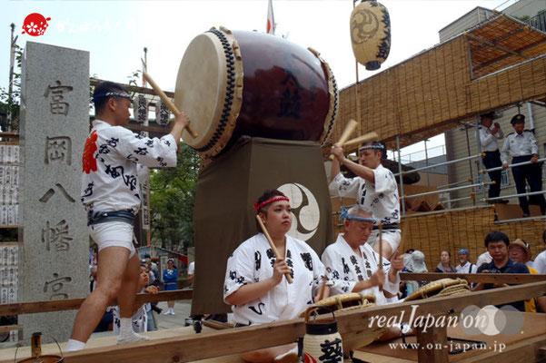 〈富岡八幡宮例大祭〉神輿連合渡御 @2014.08.17