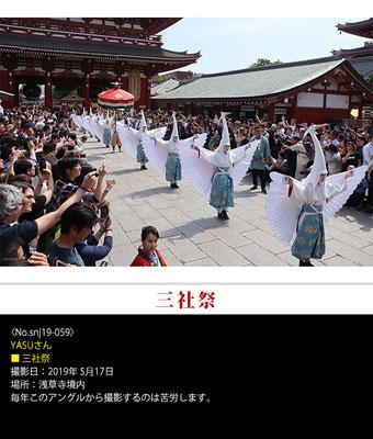 YASUさん:三社祭 ,2019年5月17日