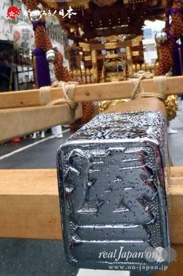 〈鉄砲洲祭〉湊三丁目(神輿台輪寸法: 2尺5寸)@2012.05.03