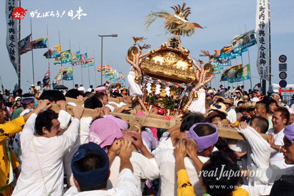 〈羽田まつり・各町神輿連合渡御〉大東 町会