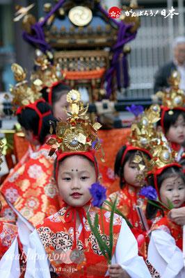 〈三崎稲荷神社例大祭〉稚児行列 @2012.05.05
