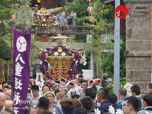 〈八重垣神社祇園祭〉神社神輿渡御 @2017.08.04 YEGK17_002