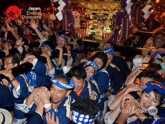 〈八重垣神社祇園祭〉神社神輿還御:東本町区 @2018.08.05 YEGK18_046