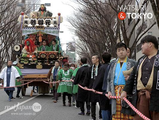 〈建国祭 2018.2.11〉 元禄弥山車 ©real Japan'on : kks18-030