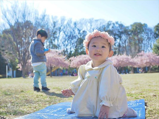 <s20-133>shiho530さん:久しぶりのおーみ。/2020年4月12日(日)/埼玉県東浦和の公園