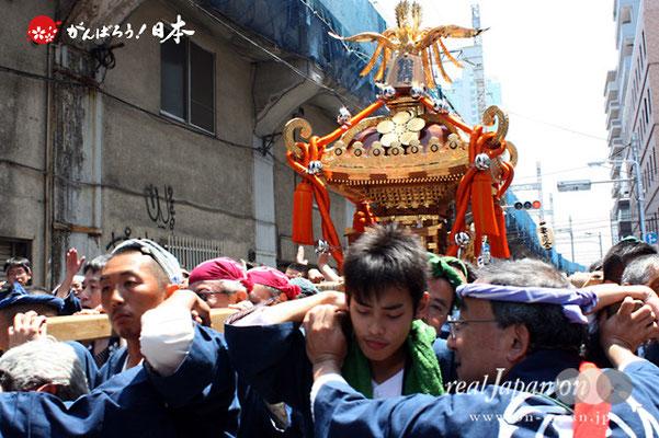 湯島天満宮例大祭〈松住町会〉@2012.05.27