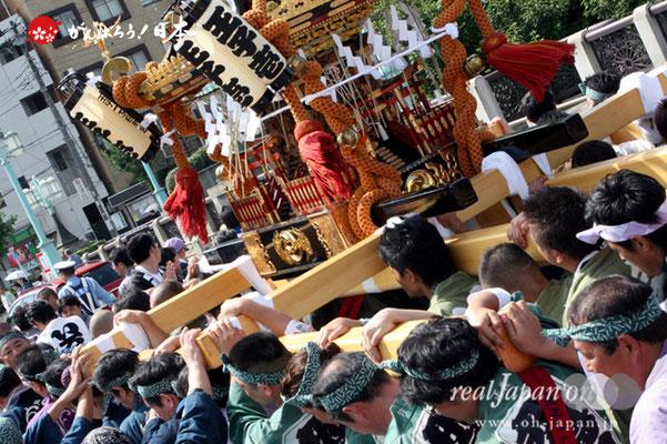 〈王子神社例大祭〉各町連合渡御 @2012.08.05