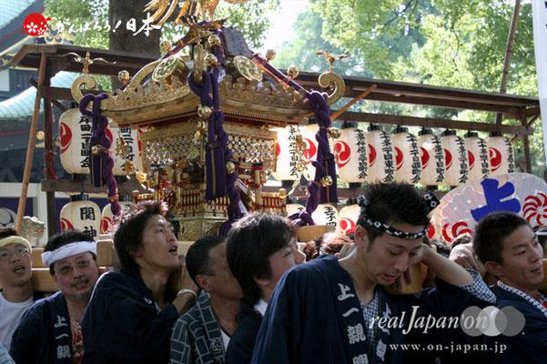 〈王子神社例大祭〉上十条一丁目西町会 @2012.08.05