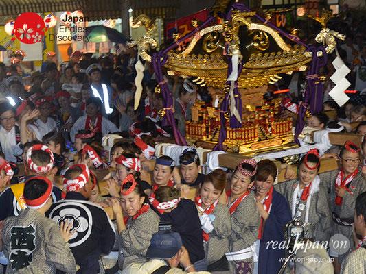 〈八重垣神社祇園祭〉女神輿連合渡御:西本町区 @2017.08.04 YEGK17_016