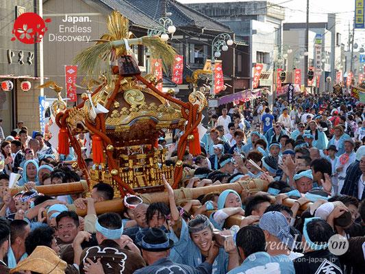 〈八重垣神社祇園祭〉神輿連合渡御:上出羽区 @2018.08.05 YEGK18_038