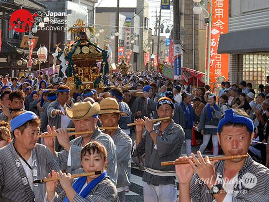 〈八重垣神社祇園祭〉神輿連合渡御:横町区 @2018.08.05 YEGK18_033