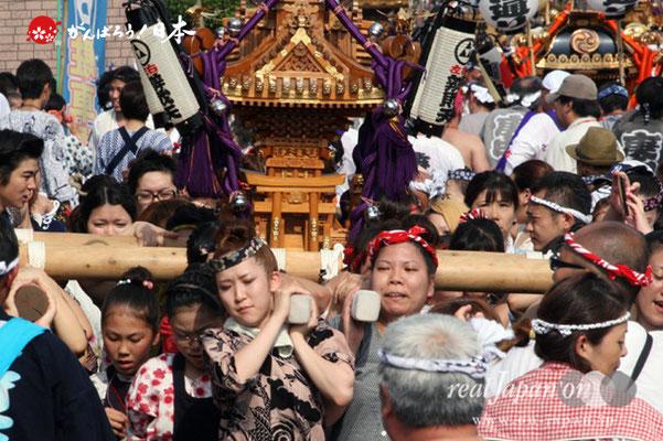 浦安三社祭〈弁財天〉@2012.06.17