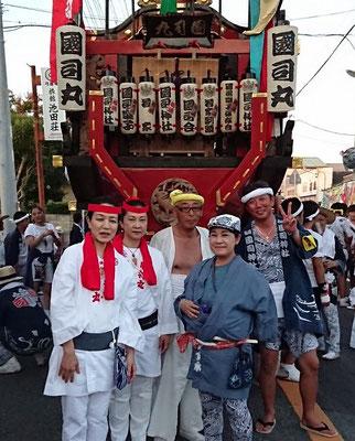 〈GP-18006〉 鈴木 恵子さん:館山の祭り・2018年8月1日