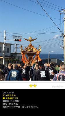 てっぽうさん: 大島椿まつり, 2017年1月29日