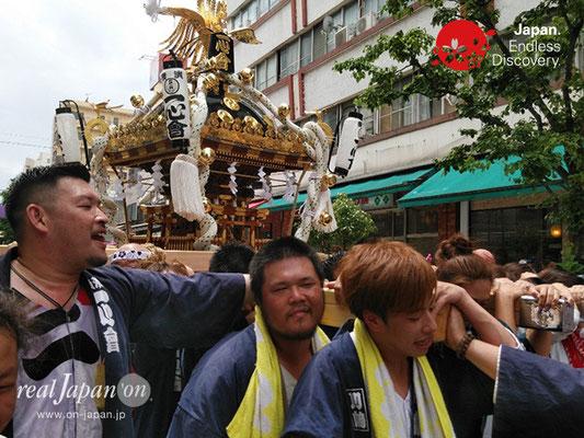 2019 第14回みこしコラボレーションinイセザキ「横濱神輿保存会 一心會」_YH19_013