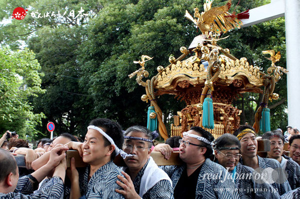 〈王子神社例大祭〉王子本町一丁目町会 @2012.08.05