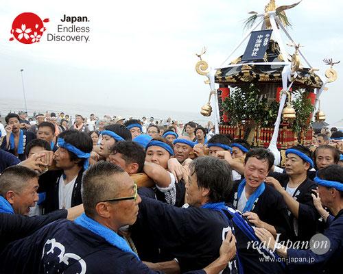 2017年度「浜降祭」中海岸 中海岸神社 2017年7月17日 HMO17_031