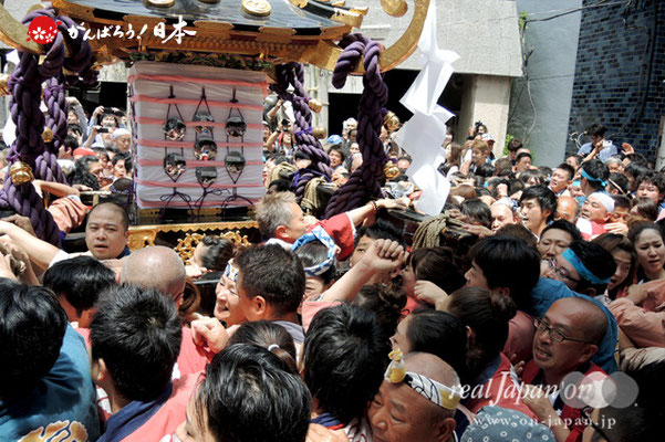 一之宮・本社神輿渡御〈寿四〉@2013.05.19