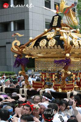 〈神田祭〉本社大神輿渡御 @2010.05.09
