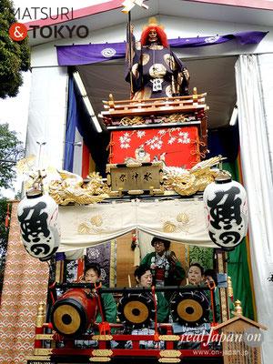 〈神田祭 2017.5.14〉加茂能人形山車(龍神の山車) ©real Japan'on -knd17-023