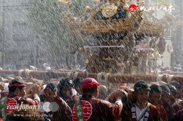 〈深川神明宮例大祭〉神輿連合渡御 一番: 森下三丁目 @2012.08.19