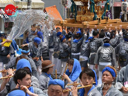 〈八重垣神社祇園祭〉神輿連合渡御:横町区 @2018.08.05 YEGK18_018