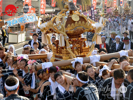 〈八重垣神社祇園祭〉神輿連合渡御:福富町区 @2018.08.05 YEGK18_034