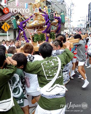 平成29年度「羽田まつり」本一 町会 2017年7月30日 HND17_022