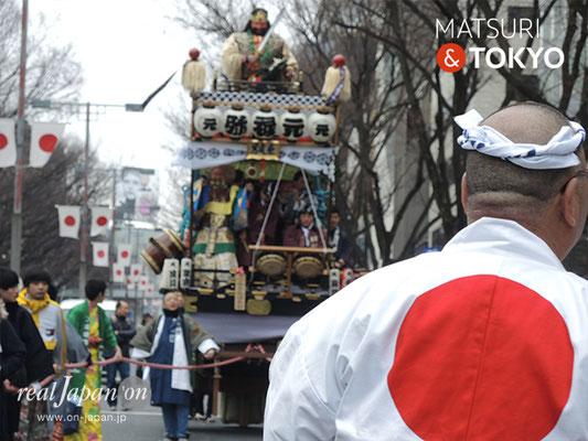 〈建国祭 2019.2.11〉元禄弥山車 ©real Japan'on : kks19-027