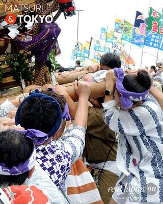 平成29年度「羽田まつり」中村祭友會 2017年7月30日 HND17_016
