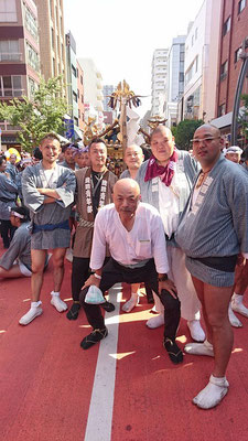 〈GP-17005〉 こーすけさん:三社祭・2017年5月21日・ 浅草・コメント:浅西青年部様 お世話になりました!