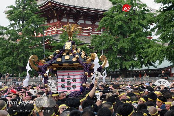 〈三社祭〉一之宮神輿・一般宮出し渡御 @2012.05.20