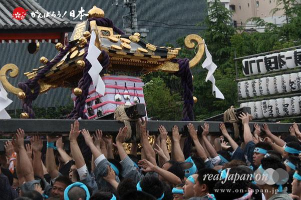 〈三社祭〉二之宮神輿・一般宮出し渡御 @2012.05.20
