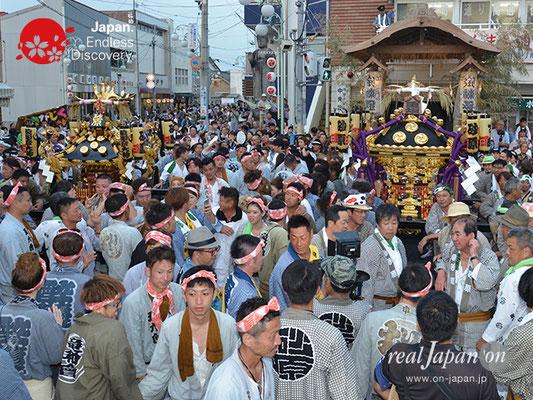 〈八重垣神社祇園祭〉神社神輿・砂原町区 @2017.08.05 YEGK17_047