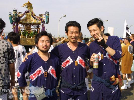 幸神睦さん。羽田は毎年。地元は町田天満宮例大祭 9月23日~24日予定!